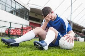 stressed athlete